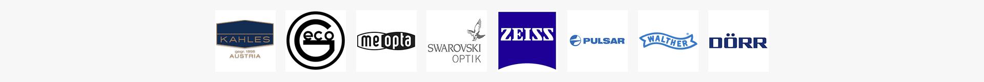 Hersteller Optik-Logozeile