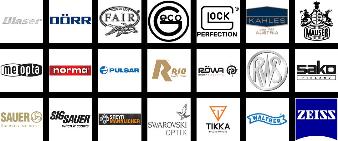 Logos der Referenzen und Partner