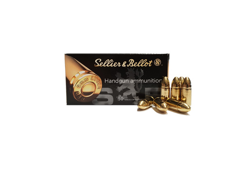 Sellier-Bellot-9x19-Para-Luger-8,0g-Fmj