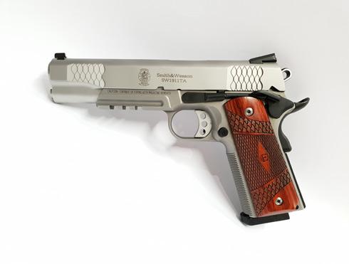 Smith & Wesson SW1911TA E-Series Tactical Accessory Rail 45 Auto