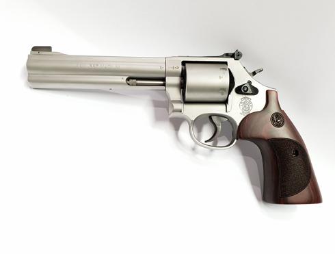 Smith & Wesson Revolver 686 International 357 Magnum 38 SPL_1