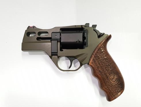 Chiappa Rhino 30DS Hunter .357 Mag Green Revolver_1