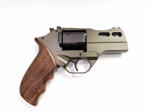 Chiappa Rhino 30DS Hunter .357 Mag Green Revolver_2