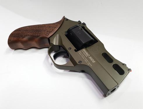 Chiappa Rhino 30DS Hunter .357 Mag Green Revolver_3