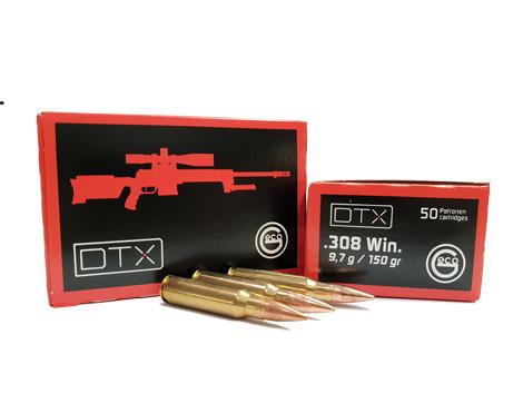Geco DTX .308 Win 150gr-9,7g FMJ_HF Jagdwaffen